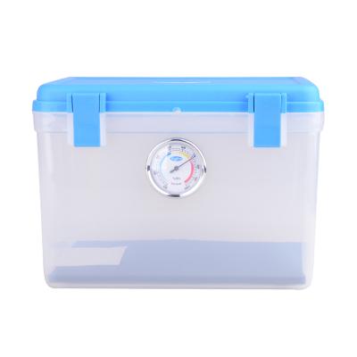 卡赛(KAssA)KS-204 单反相机防潮箱/镜头收纳箱/干燥箱 简易锁卡扣式 带吸湿卡 蓝色