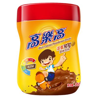 高樂高可可粉固體飲料coco粉巧克力粉營養早餐速溶沖飲品350g/罐