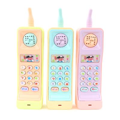 恒佳(HengJia)大哥大玩具手機嬰幼兒童益智早教玩具電話寶寶啟蒙學習音樂1-3歲 單個購買無單獨包裝顏色隨機