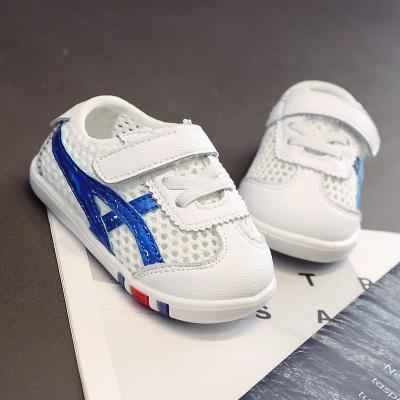 【關注優先發貨】葆適得童鞋春款男女牛皮寶寶鞋子1-3歲兒童機能鞋透氣鏤空網面學步鞋x