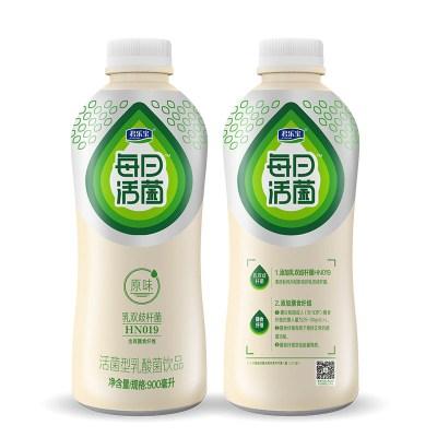 君樂寶每日活菌型900ml*2瓶/3瓶乳酸菌飲品900ml瓶裝原味百香果多種口味