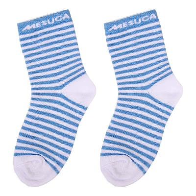 麦斯卡蓝白条纹袜子
