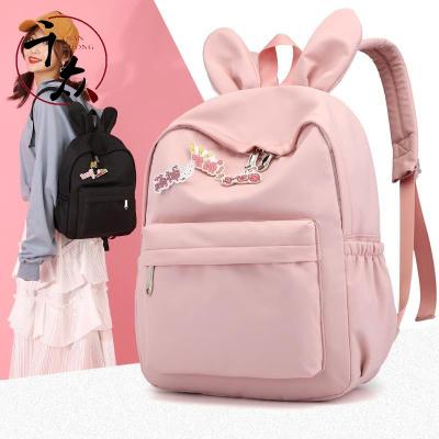 【精品特賣】 兒童書包女小學生2-3一年級韓版女孩公主可愛防水帆布超輕便書包
