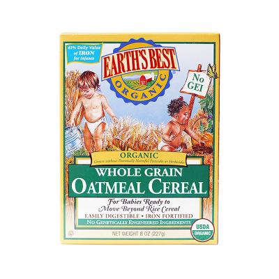 Earth's Best 愛思貝地球世界有機谷物燕麥米粉 227g/盒裝 原裝進口