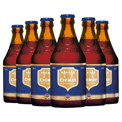 比利時進口 精釀啤酒 Chimay 智美藍帽啤酒330ml*6瓶