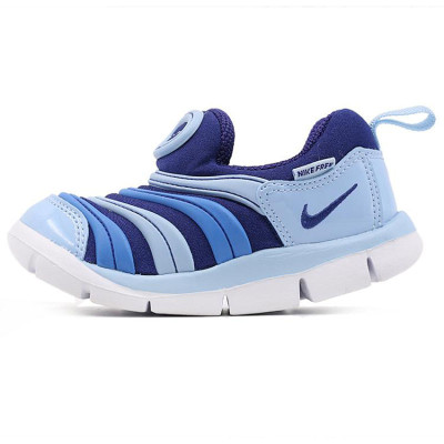 Nike/耐克 男童 女童鞋 DYNAMO FREE毛毛虫套脚复刻鞋跑步鞋343938 343738