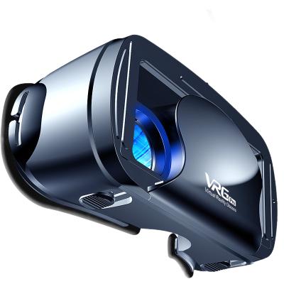 才子小帥VR眼鏡手機專用3D虛擬現實頭盔魔鏡藍光智能禮品 藍光VR眼鏡