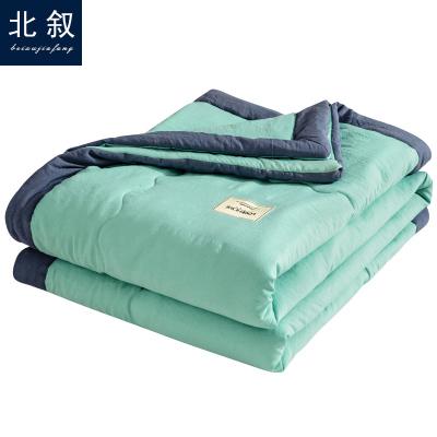 北敘(BEIXU)家紡 日系水洗棉空調被夏涼被雙人單人學生被芯純色春秋夏季薄被子床上用品