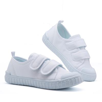 百士發(BAISHIFA)4白色男童布鞋6運動會8兒童演出小白鞋7女童跳舞鞋5幼兒園9歲學生