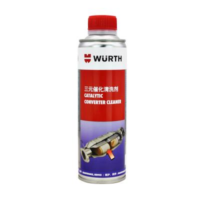德國伍爾特進口三元催化清洗劑汽車積碳尾氣改善氧傳感器清潔免拆