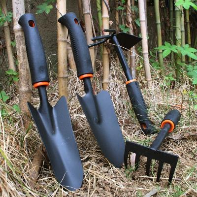 家用园艺小铲子套装盆栽种花工具养花种菜挖土户外挖菜铁铲三件套