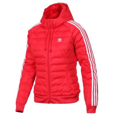 阿迪达斯(adidas)三叶草女装冬季新款运动保暖棉服夹克外套DH4585