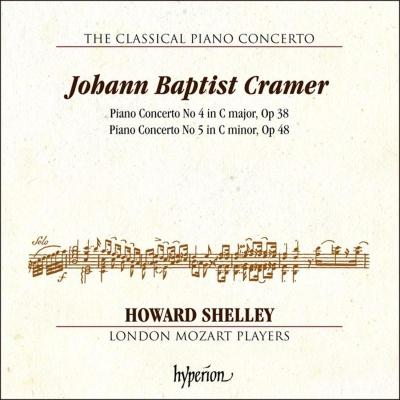 CDA68270 Cramer:钢琴协奏曲NO.4,5 Howard Shelley CD 预订