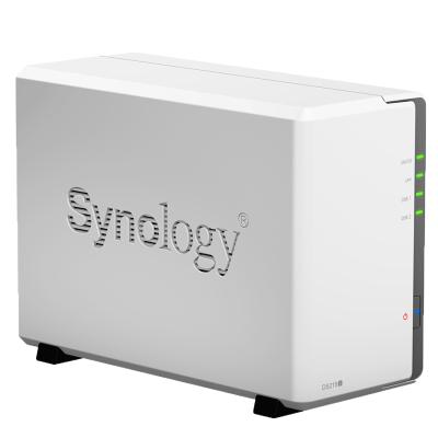 群晖(Synology) DS218j 2盘位 NAS网络存储服务器 (无内置硬盘)