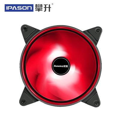 攀升 光轮 炫光机箱风扇 (默认红色 可备注选色) 炫光静音 光轮环形机箱风扇12cm