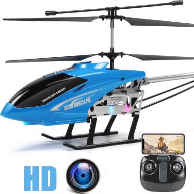 星域傳奇 高品質77厘米超大型遙控飛機耐摔直升機充電玩具飛機無人機男孩暑假禮物 紅色大型77厘米定高懸浮版直升機 航拍版