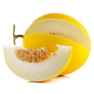 果農富【2件起售】陜西金香玉甜瓜 2.5±0.1斤 約1-2個 黃金甜瓜當季新鮮水果黃皮香瓜蜜瓜18°蜜