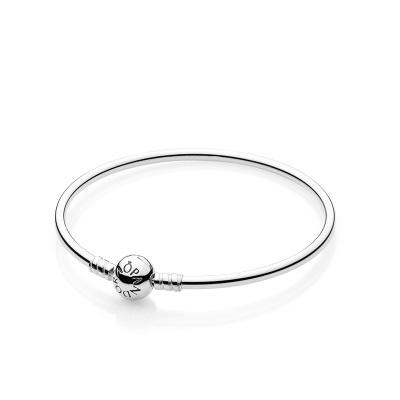 PANDORA潘多拉 590713經典基礎手鐲925銀手鐲手鏈可搭配串飾吊墜
