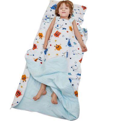 睡袋春秋款寶寶中大童防踢被神器四季通用被子秋冬款可水洗被式