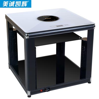 K1-80F2 (багана + супер цагаан саарал самбар) Цахилгаан халаалтын ширээ
