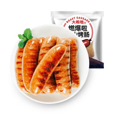 【滿299-160】大希地 燃爆啦火山烤腸 凈重480g/包(8根)原味