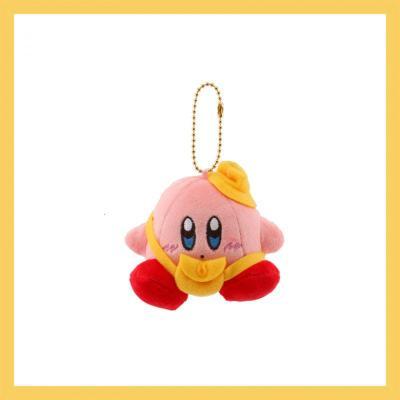 【精品好貨】日系星之卡比毛絨掛件可愛粉色少女心包包掛飾卡通公仔生日萌 黃色幼兒園卡比