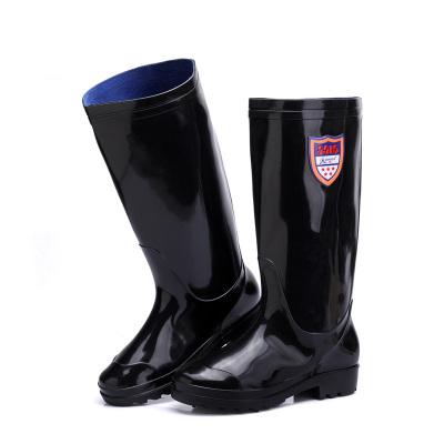 強人3515雨鞋男士中筒時尚防水潮鞋戶外膠鞋 YX907-1
