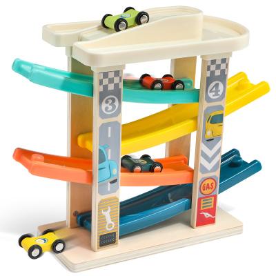 特寶兒(topbright)趣味滑翔車 男孩女孩軌道車木制兒童玩具 益智玩具嬰兒玩具 寶寶生日禮物1-3歲120272