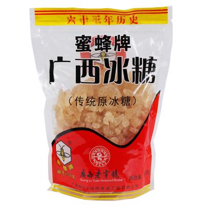 【廣西老字號】蜜蜂牌廣西冰糖500g*2袋小粒黃冰糖多晶甘蔗老冰糖