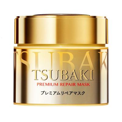 【李佳琦力荐】Shiseido/资生堂金色发膜180g Tsubaki丝蓓绮0秒修复各种发质通用 滋润营养(保税)