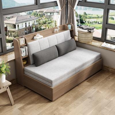 沙發床可折疊雙人小戶型客廳坐臥兩用多功能伸縮推拉陽臺單人收納現代簡約