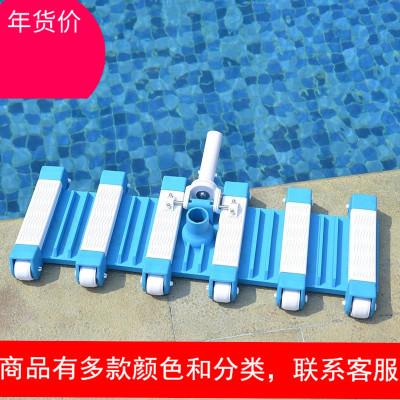 游泳池吸污頭吸污機水下吸塵器魚池清潔設備14寸底部帶毛刷吸污頭
