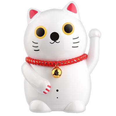 聲視安無線監控攝像頭家用手機遠程夜視小型室內招財貓wifi高清裝監控器