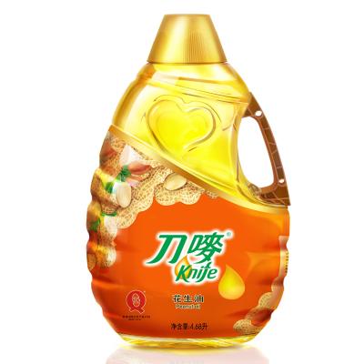 刀唛 食用油 压榨一级 花生油4.68L 香港品质
