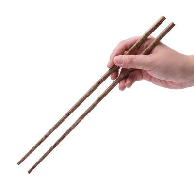 油炸鍋帶溫度計天婦羅烘焙精靈家用小炸鍋平底瀝油不粘無油煙鐵鍋 加長油炸筷子【兩雙】