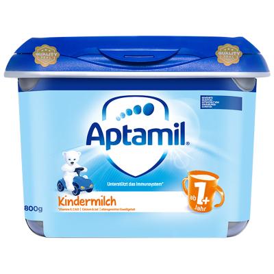 【德國進口】Aptamil 德國愛他美 嬰幼兒配方奶粉 安心罐 1+段/4段 (1-2歲)800g/罐 德國原裝進口