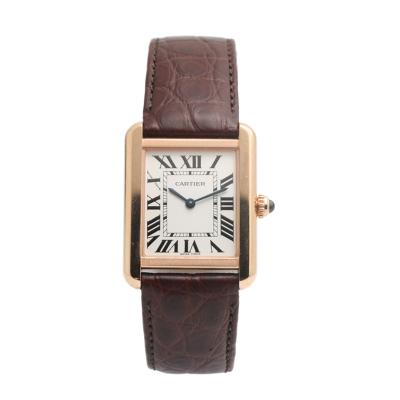 【二手95新】卡地亞Cartier坦克系列W5200024女表石英奢侈品鐘手表腕表