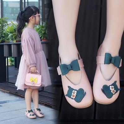 莎丞 2018春秋季新款兒童鞋子女童皮鞋小童單鞋小女孩公主鞋韓版奶奶鞋