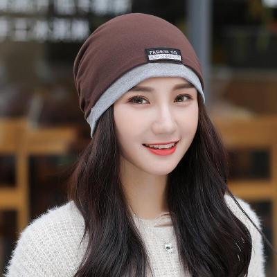 迪魯奧(DILUAO)帽子女冬季韓版百搭甜美可愛針織棉帽女生冬天戶外騎行保暖毛線帽 酒紅色 均碼收藏加購優先貨