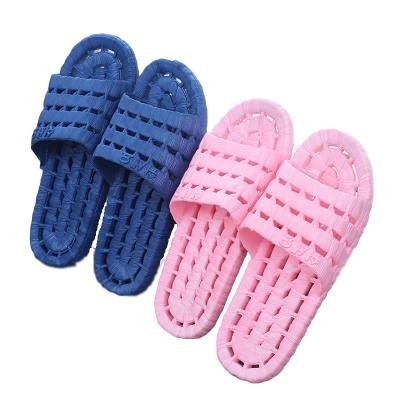 浴室拖鞋男夏女家居室内拖鞋防滑情侣洗澡塑料洞洞漏水居家用拖鞋