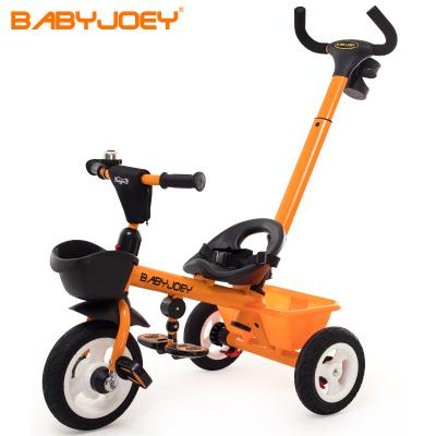 童車手推車 Babyjoey 英國 兒童三輪車腳踏車1-3-5歲 簡易自行車多功能手推車小蜜蜂