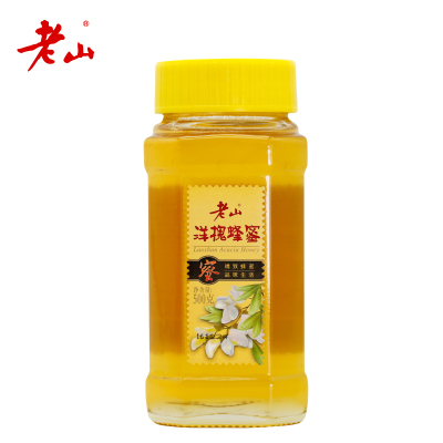 【江蘇老字號】老山洋槐蜜500g/瓶玻璃瓶裝