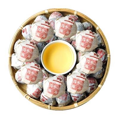 2018年 云章 普洱茶 生茶 龙珠 西半山小龙珠 临沧 勐库茶叶 沱茶 单颗 茶窝茶叶