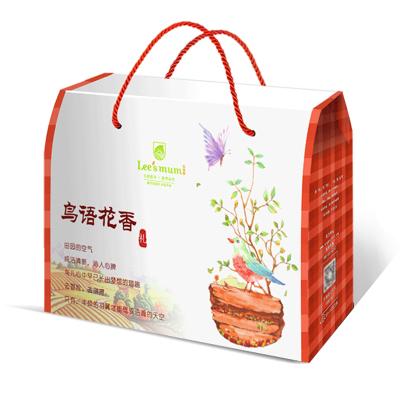 【年貨禮盒】樂食麥 良品美谷鳥語花香中秋年貨禮盒有機五谷雜糧薏米黑豆黃小米
