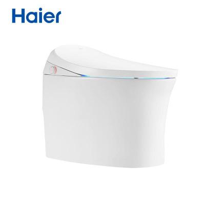 海尔(Haier)卫玺H3-3025智能马桶一体机助便节水虹吸坐便器全自动马桶即热式无水压限制有水箱??乜?05坑距