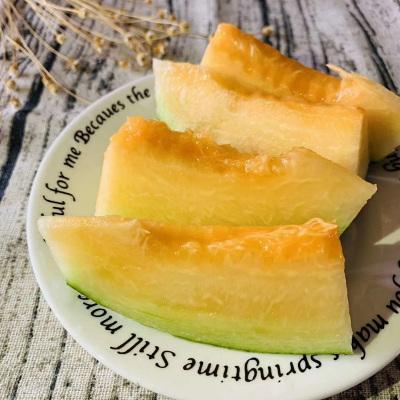 【綠野開心樹】【西州蜜】2.5斤帶箱 7.9元 兩件起拍 西州網紋密瓜 新鮮水果 哈密瓜 香瓜 應季水果