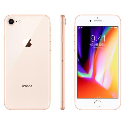 Apple/蘋果 iphone 8 移動 智能手機 全新有鎖未激活【裸機】 蘋果8 金色 64GB 美版