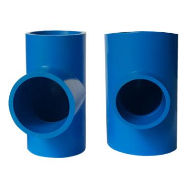 帮客材配 安居士 PVC三通(蓝色)φ25 整件销售 500个一件