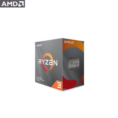 AMD 銳龍3 3100 處理器 (r3)7nm 4核8線程 3.6GHz 65W AM4接口 盒裝CPU