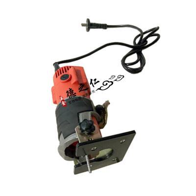 定做石材拼缝机大理石石英石台面安装修边机石材电动接缝机便携式工具